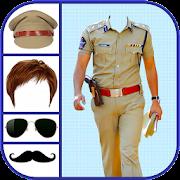 Men Police Suit Photo Editor - Men Police Dress