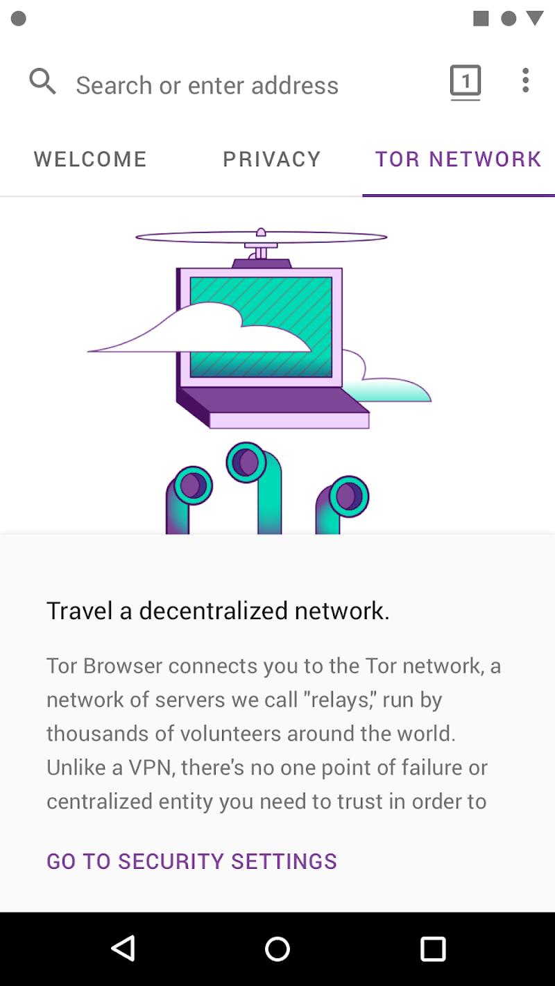 Tor Browser (Alpha) Screenshot 3