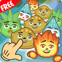 New Elements: 8 match 3 style game pack icon
