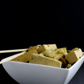 Slow-Cooker Coconut Basil Tofu.