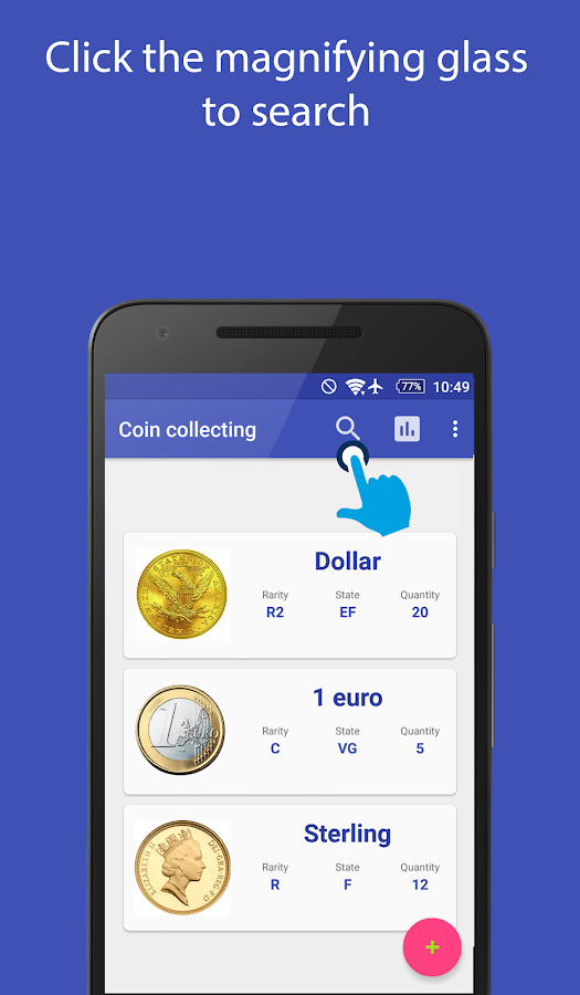 Coin collecting- screenshot