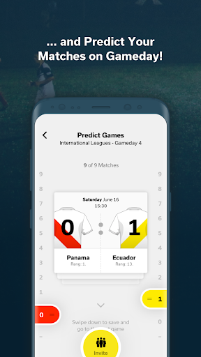 tackl - football match prediction app with friends - screenshot