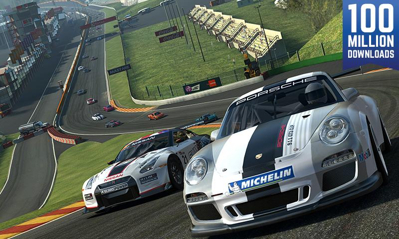 Real Racing 3 v3.5.2 Mod [Money+All Cars] APK - Cover