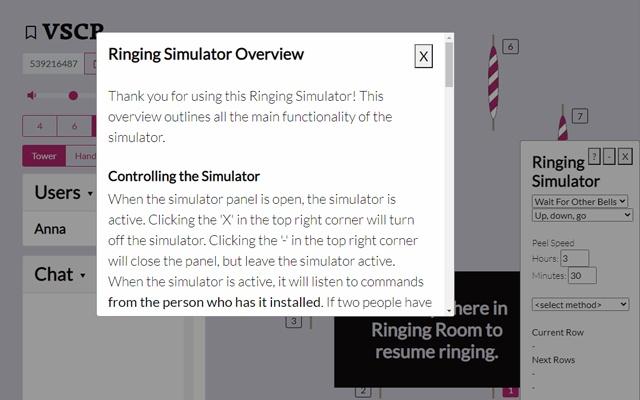 RingingRoom Simulator