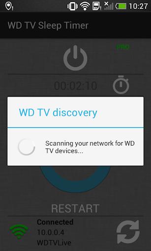 WD TV Sleep Timer 1.0 screenshots 4