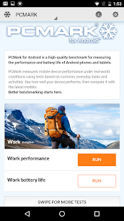 PCMark for Android Benchmark Screenshot 1