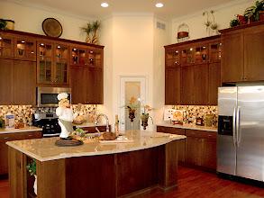 Photo: The kitchen in our new LEIGHTON model at Brookhaven Estates.