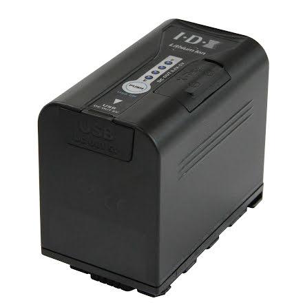 7,4 V 47Wh 1x USB 1x-Tap Panasonic- IDX