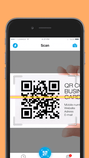 Screenshot for QR Code Pro in United States Play Store