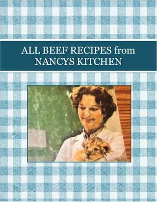 ALL BEEF RECIPES from NANCYS KITCHEN