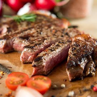 Easy Seared Grass Fed Ribeye Steaks.
