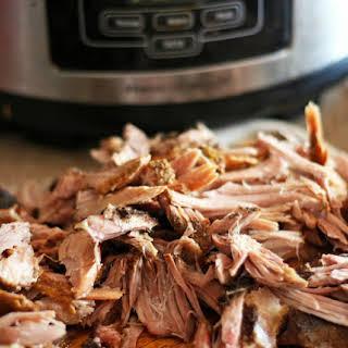 Slow Cooker Pork Carnitas.