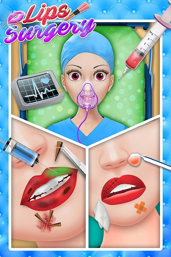 Lips Surgery & Makeover- screenshot