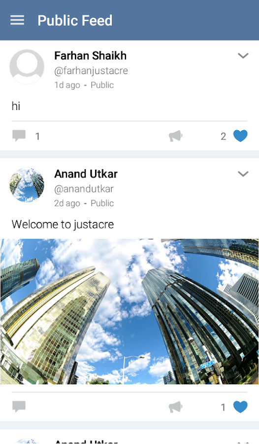 Justacre- screenshot