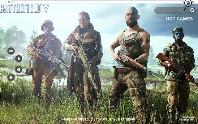 Battlefield 5 HD Wallpapers New Tab
