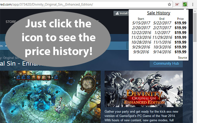 Price History for Steam™