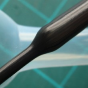 close up of ptfe heat shrink
