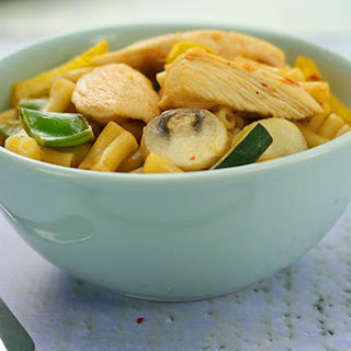 Sweet Chilli Chicken Macaroni.