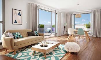 Appartement 4 pièces 93,23 m2