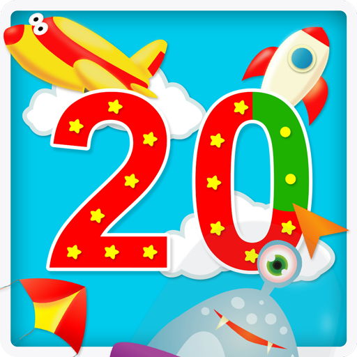 Numbers 123: write 1 to 20 kids tracing