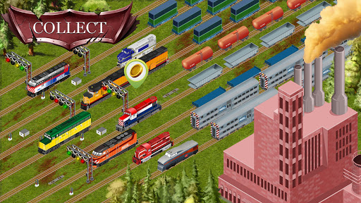 Chicago Train - Idle Transport Tycoon android2mod screenshots 10