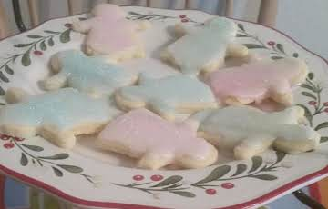 No-Chill Sugar Cookies with Icing