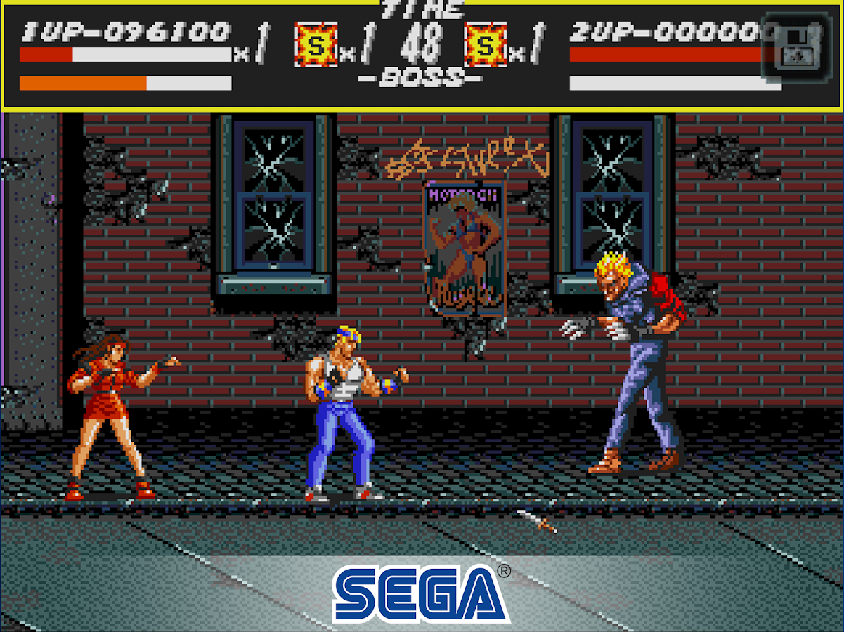 Streets of Rage Classic- screenshot