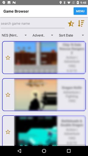 Retro Game Center (enjoy classic/emulation games) filehippodl screenshot 2