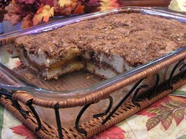 Pumpkin-streusel Coffee Cake Recipe