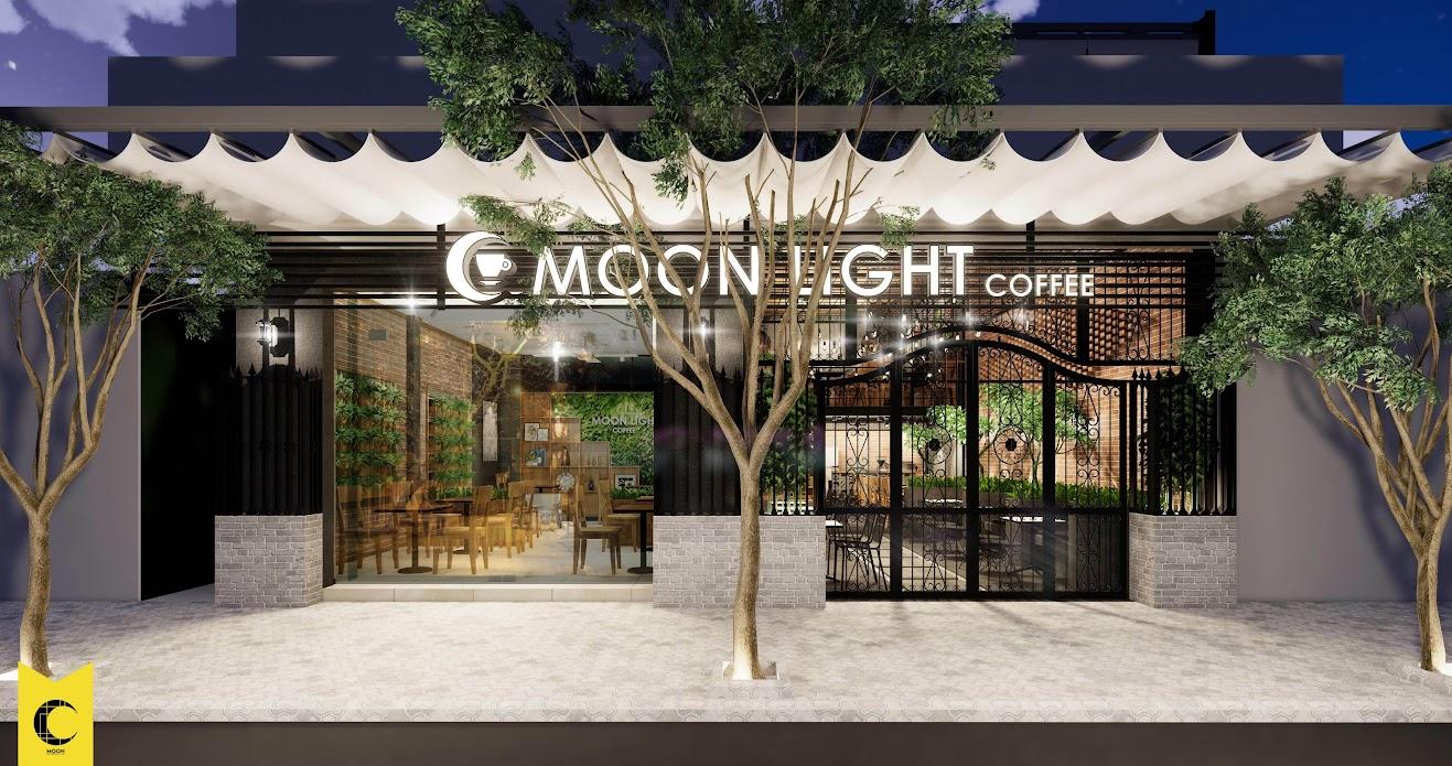 DECOR MẶT TIỀN QUÁN CAFE