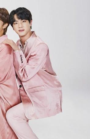 BTS Jin transparent chair