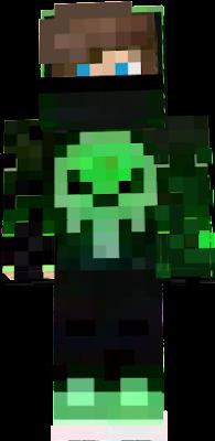 minecraft green guy
