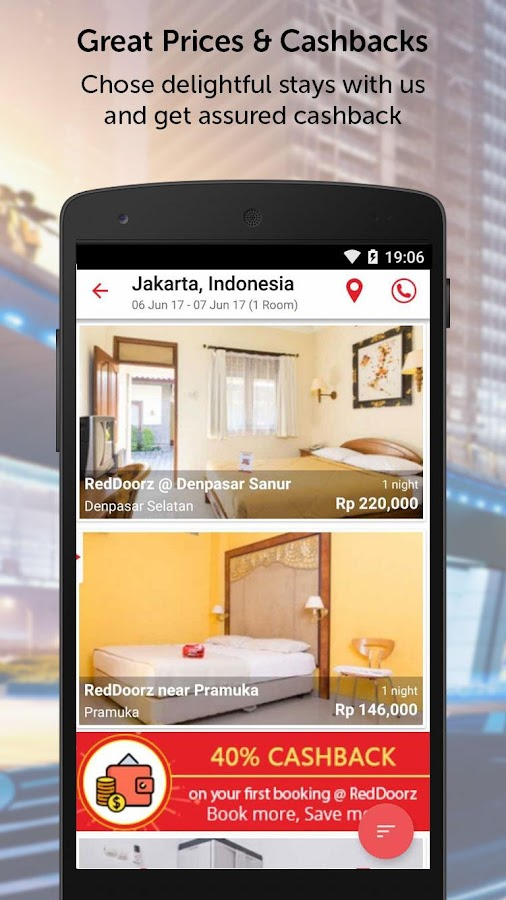 RedDoorz – Hotel Booking App- screenshot