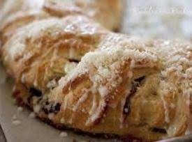 Cranberry Crescent Coffee Cake Recipe