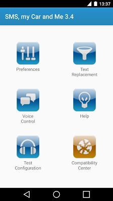 SMS, my Car and Me - screenshot