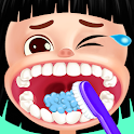 Mouth care doctor - dentist & tongue surgery game icon