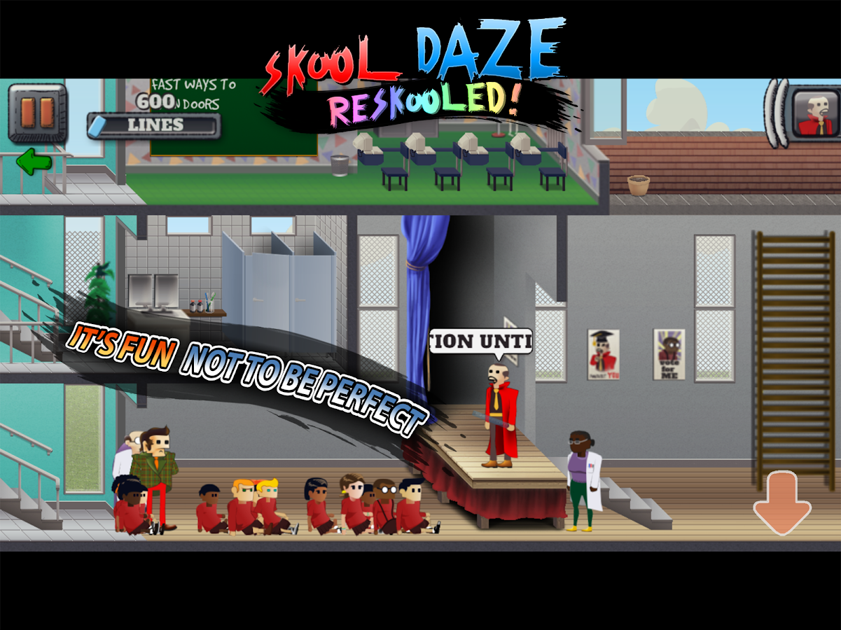Skool Daze Reskooled!- screenshot