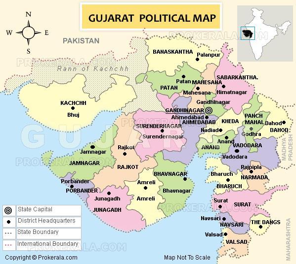 Image result for gujarat map