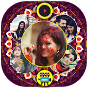 Diwali Photo to Video Maker with Music
