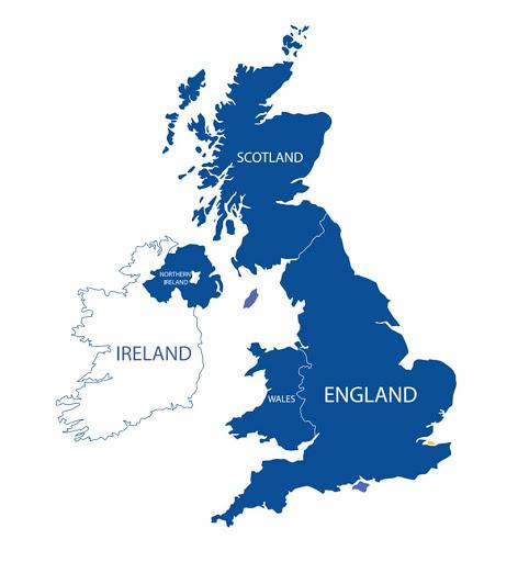 Birleşik Krallık Haritası