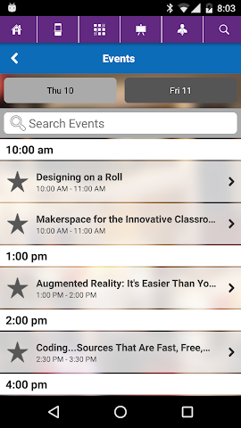 android MACUL 2016 Conference Screenshot 3