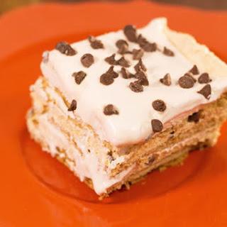 Easy Pumpkin Eclair Cake.