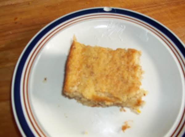 Finished Orange Cake You Can Serve As Is Or Top With Whipped Cream.