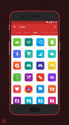 Elta - Flat Style Icon Pack screenshots 4