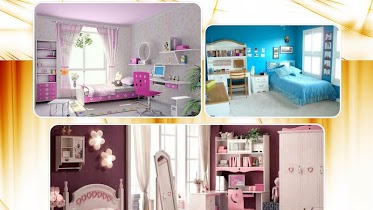 Girls bedroom design - screenshot thumbnail 02