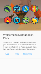 Sixmon - Icon Pack APK screenshot thumbnail 5