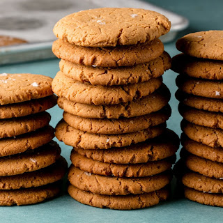 Chewy Browned Coconut Butter Cookies Recipe