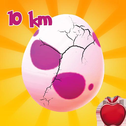 Egg Hatching Poke Gen 1 :  10 Km