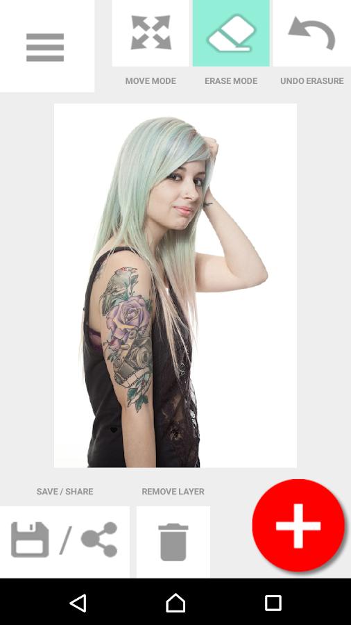 Screenshots of Tattoo my Photo 2.0 for iPhone
