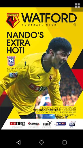 Watford FC programmes